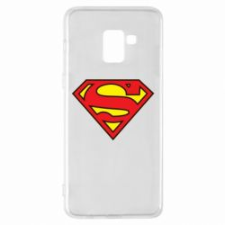 Чехол для Samsung A8+ 2018 Superman Symbol