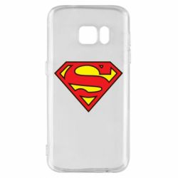 Чехол для Samsung S7 Superman Symbol