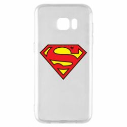 Чехол для Samsung S7 EDGE Superman Symbol
