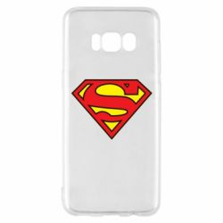 Чехол для Samsung S8 Superman Symbol
