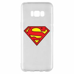 Чехол для Samsung S8+ Superman Symbol