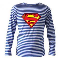 Тельняшка с длинным рукавом Superman Symbol
