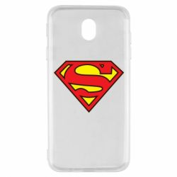 Чехол для Samsung J7 2017 Superman Symbol