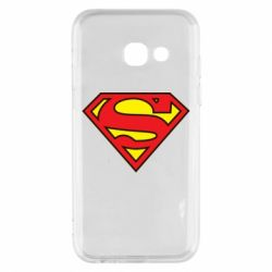 Чехол для Samsung A3 2017 Superman Symbol