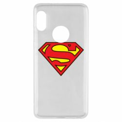 Чехол для Xiaomi Redmi Note 5 Superman Symbol