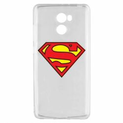Чехол для Xiaomi Redmi 4 Superman Symbol
