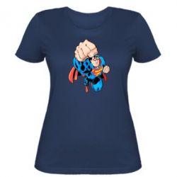 Женская футболка Супермен Комикс - FatLine