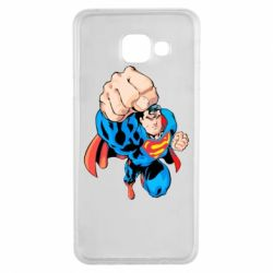 Чохол для Samsung A3 2016 Супермен Комікс
