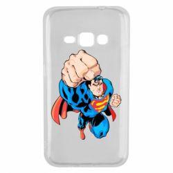 Чохол для Samsung J1 2016 Супермен Комікс
