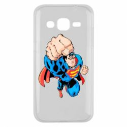Чохол для Samsung J2 2015 Супермен Комікс