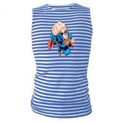 Майка-тельняшка Супермен Комикс - FatLine