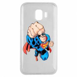 Чохол для Samsung J2 2018 Супермен Комікс