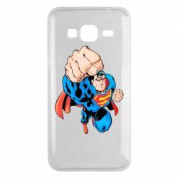 Чохол для Samsung J3 2016 Супермен Комікс