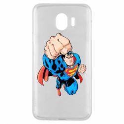 Чохол для Samsung J4 Супермен Комікс