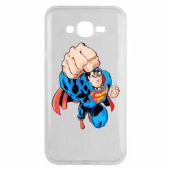 Чохол для Samsung J7 2015 Супермен Комікс
