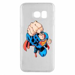 Чохол для Samsung S6 EDGE Супермен Комікс