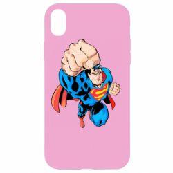 Чохол для iPhone XR Супермен Комікс