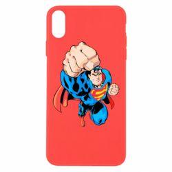 Чохол для iPhone Xs Max Супермен Комікс