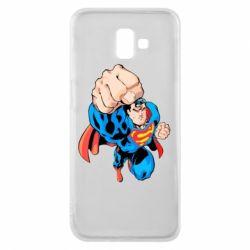 Чохол для Samsung J6 Plus 2018 Супермен Комікс