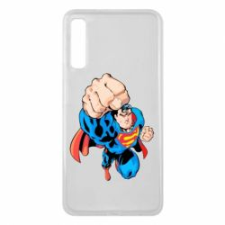 Чохол для Samsung A7 2018 Супермен Комікс