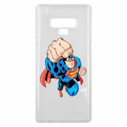 Чохол для Samsung Note 9 Супермен Комікс