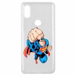 Чохол для Xiaomi Mi Mix 3 Супермен Комікс
