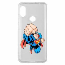 Чохол для Xiaomi Redmi Note Pro 6 Супермен Комікс