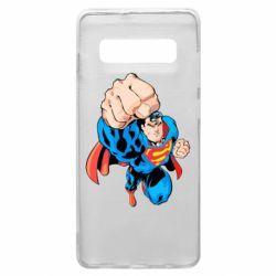 Чохол для Samsung S10+ Супермен Комікс