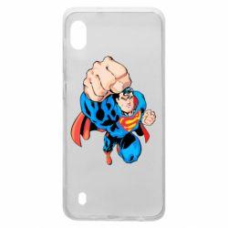 Чохол для Samsung A10 Супермен Комікс