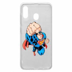Чохол для Samsung A20 Супермен Комікс