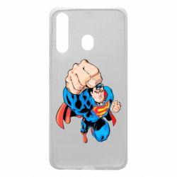 Чохол для Samsung A60 Супермен Комікс