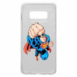 Чохол для Samsung S10e Супермен Комікс