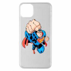 Чохол для iPhone 11 Pro Max Супермен Комікс
