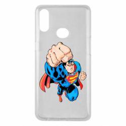 Чохол для Samsung A10s Супермен Комікс