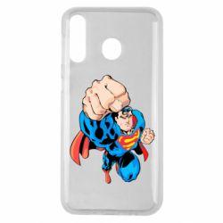 Чохол для Samsung M30 Супермен Комікс