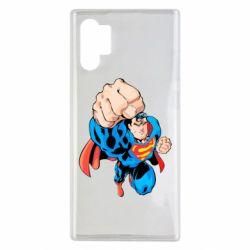 Чохол для Samsung Note 10 Plus Супермен Комікс
