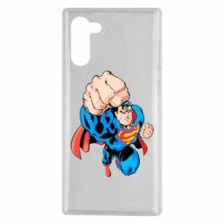 Чохол для Samsung Note 10 Супермен Комікс