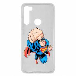 Чохол для Xiaomi Redmi Note 8 Супермен Комікс