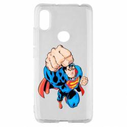 Чохол для Xiaomi Redmi S2 Супермен Комікс