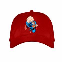 Детская кепка Супермен Комикс - FatLine
