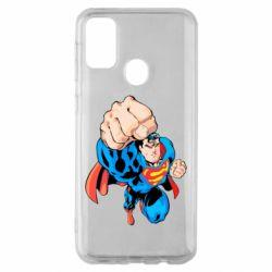 Чохол для Samsung M30s Супермен Комікс
