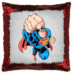 Подушка-хамелеон Супермен Комікс