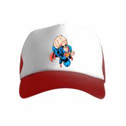 Дитяча кепка-тракер Супермен Комікс