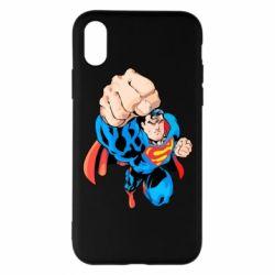 Чохол для iPhone X/Xs Супермен Комікс