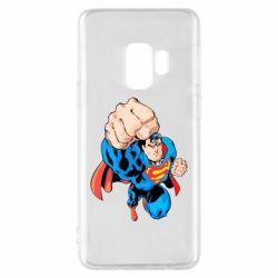 Чохол для Samsung S9 Супермен Комікс