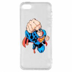 Чохол для iphone 5/5S/SE Супермен Комікс