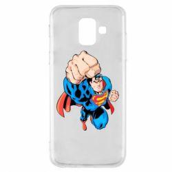 Чохол для Samsung A6 2018 Супермен Комікс