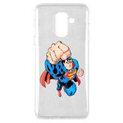 Чохол для Samsung A6+ 2018 Супермен Комікс
