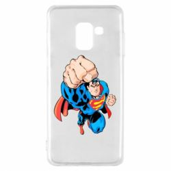 Чохол для Samsung A8 2018 Супермен Комікс