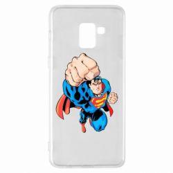 Чохол для Samsung A8+ 2018 Супермен Комікс